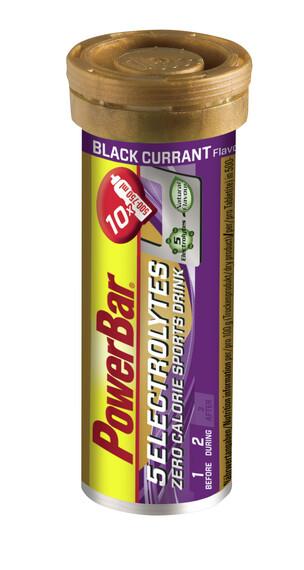 PowerBar 5 Electrolytes Tube Black Currant 10 Tabs